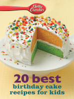Betty Crocker 20 Best Birthday Cakes Recipes for Kids