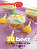 Betty Crocker 20 Best Baby Shower Recipes