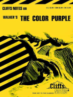 CliffsNotes on Walker's The Color Purple