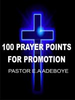 100 Prayer Points For Promotion