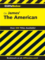 CliffsNotes on James' The American