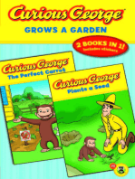 Curious George Grows a Garden (CGTV Double Reader)