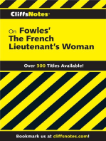 CliffsNotes on Fowles' The French Lieutenant's Woman