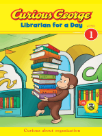 Curious George Librarian for a Day (CGTV Early Reader)
