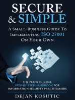 Secure & Simple – A Small-Business Guide to Implementing ISO 27001 On Your Own