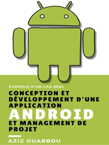 Conception et Développement d'Une Application Android et Management du Projet