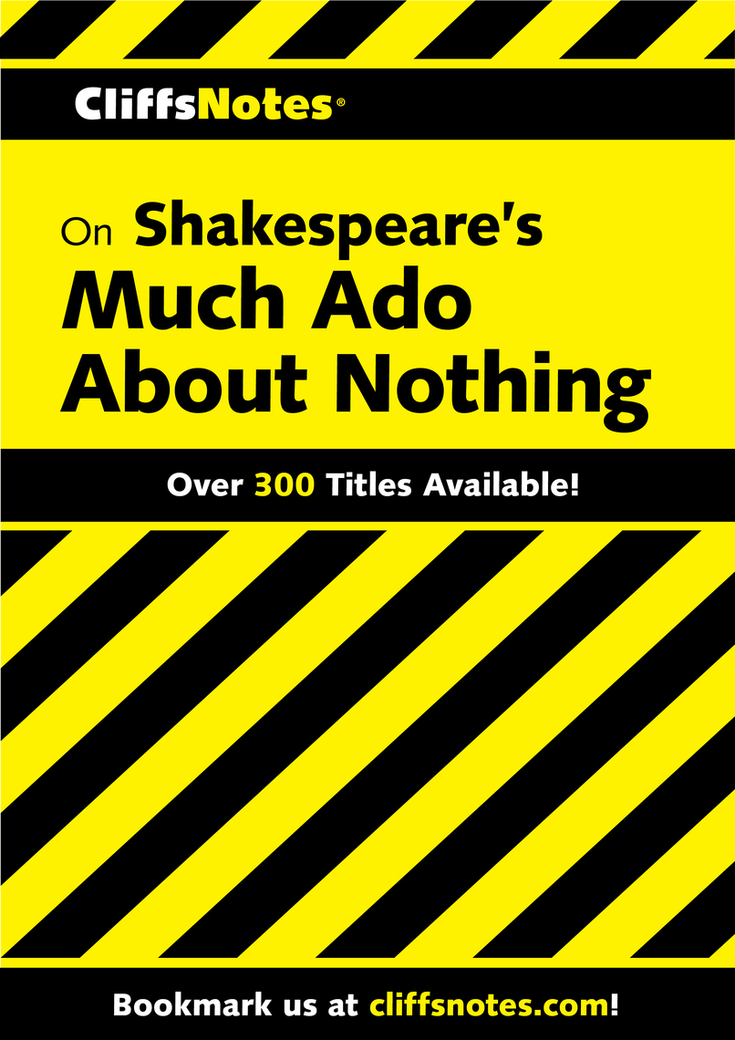 Read CliffsNotes on Shakespeare's Much Ado About Nothing ...