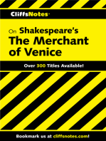 CliffsNotes on Shakespeare's The Merchant of Venice