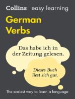 Easy Learning German Verbs