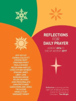 Reflections for Daily Prayer 2016-17