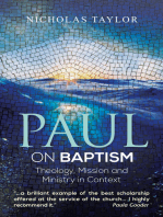 Paul on Baptism