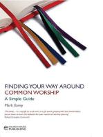 Finding Your Way Around Common Worship