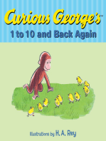 Curious George's 1 to 10 and Back Again