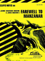 CliffsNotes on Houston's Farewell to Manzanar