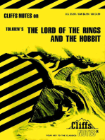 CliffsNotes on Tolkien's The Lord of the Rings & The Hobbit