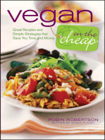 Vegan on the Cheap
