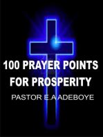 100 Prayer Points For Prosperity