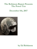 The Robinson Report Presents the Power Ten December 5th, 2017
