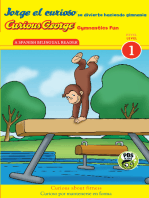 Jorge el curioso se divierte haciendo gimnasia/Curious George Gymnastics Fun Bilingual (CGTV Reader)