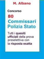 Concorso 80 Commissari Polizia di Stato: Tutti i quesiti ufficiali della prova preselettiva