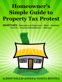 Homeowner's Simple Guide to Property Tax Protest: Whats key: Exemptions & Deductions Blind. Disabled. Over 65. Property Rehabilitation. Veterans