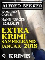 Extra Krimi Sammelband Januar 2018