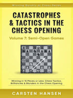Catastrophes & Tactics in the Chess Opening - Vol 7