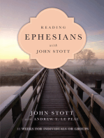 Reading Ephesians with John Stott