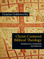 Christ-Centered Biblical Theology