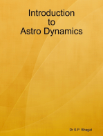 Introduction to Astro Dynamics