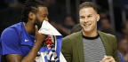 Clippers' Blake Griffin Is Upbeat About the Possibility of Returning Friday Against Lakers