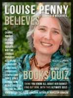 Louise Penny Quotes and Believes and Books Quiz