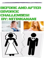 Before and after divorce challenges