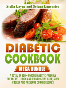 Diabetic Cookbook: Mega Bundle
