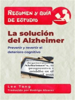 Resumen Y Guía De Estudio – La Solución Del Alzheimer