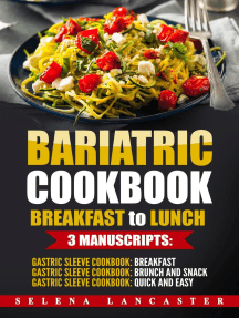 Bariatric Cookbook: Breakfast to Lunch