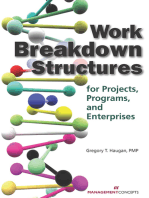Work Breakdown Structures for Projects, Programs, and Enterprises