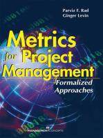 Metrics for Project Management