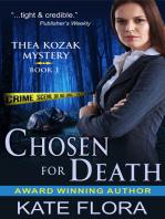 Chosen for Death (The Thea Kozak Mystery Series, Book 1)