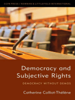 Democracy and Subjective Rights: Democracy Without Demos