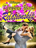 Ways To Deepen Your Relationship