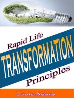 Rapid Life Transformation Principles