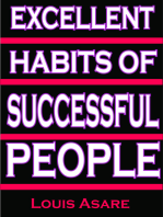 Excellent Habits Of Successful People