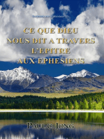 Sermons Sur Ephésiens (I) - Ce Que Dieu Nous Dit A Travers L'epitre Aux Ephesiens