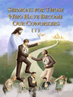 Sermons For Those Who Have Become Our Coworkers (I)