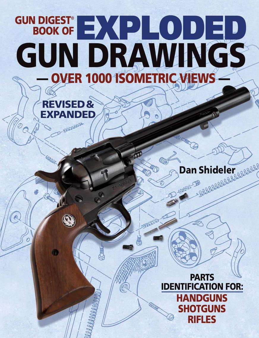 gun digest book of exploded gun drawings by dan shideler read onlinePin Diagram Of Ruger Mark I From Gun Digest Book Exploded Drawings On #9