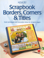 Scrapbook Borders, Corners & Titles