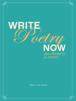 Write Poetry Now