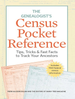 The Genealogist's Census Pocket Reference