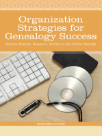 Organization Strategies for Genealogy Success